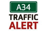 Work on gas main causing delays at A34 Milton interchange