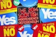 'We cannot vote but we do have our own views on Scottish independence'